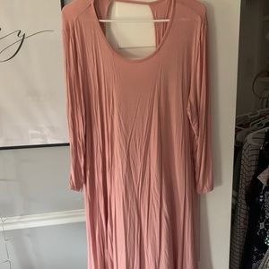 Dresses & Skirts - Long sleeve cotton dress